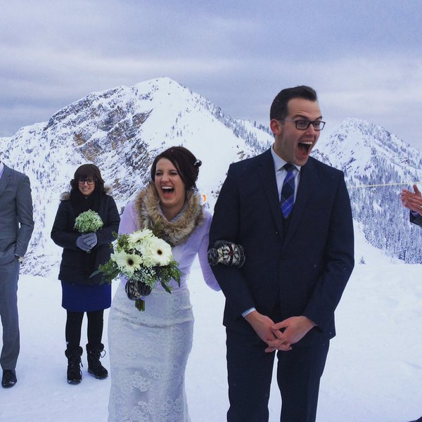 Bloomberg Hill Reporter Josh Wingrove Wed Partner Lorraine Stelck In A Dec 12 Ceremony At Kicking Horse Mountain Resort Golden B C With 150 Family
