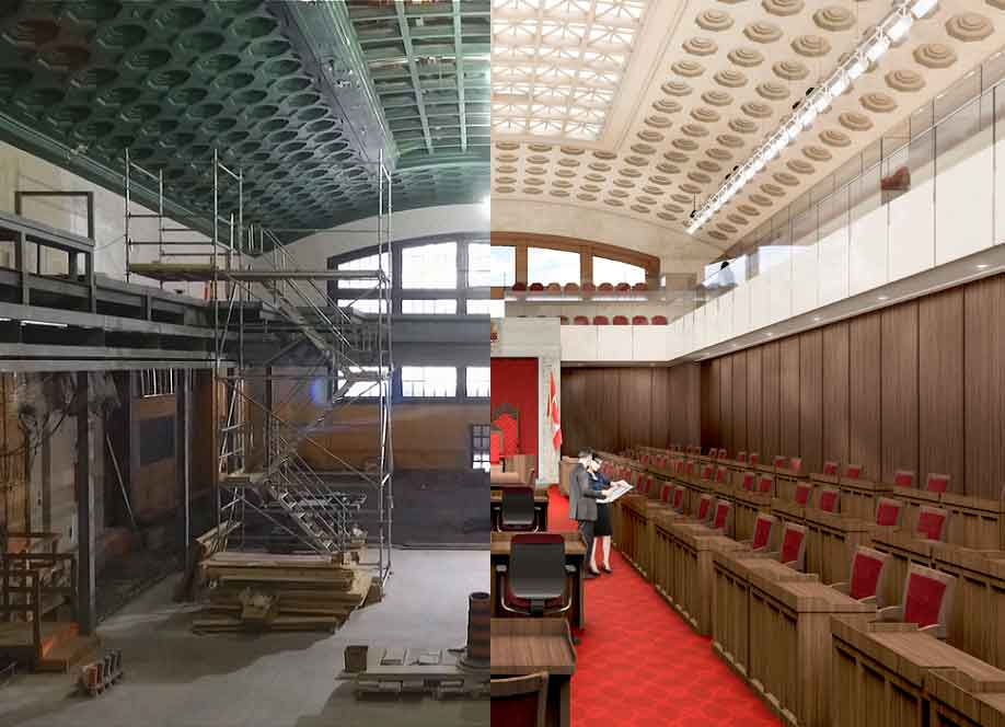 Renovating The Government Conference Centre In Pictures