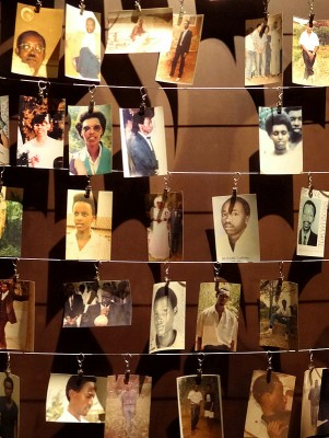 Photographs of genocide victims displayed at the Genocide Memorial Center in Kigali. Photograph courtesy of Adam Jones, Ph.D.t57d94bd9.m800.x7ec65c21