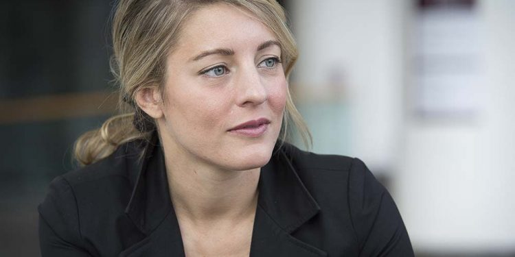 Heritage Minister Melanie Joly Is Tasked With Hosting The  Day Sesquicentennial Fete Pi Photograph By Jake Wright