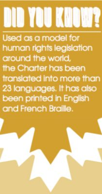 Sexual orientation charter of rights and freedoms guaranteed