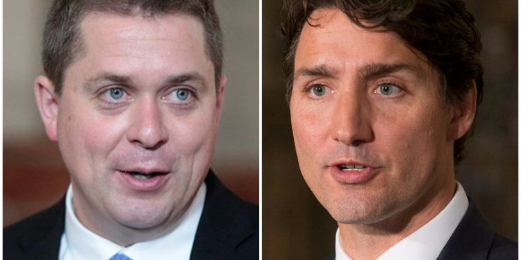 Conservatives and Scheer falling behind in Ontario, says Campaign Research poll