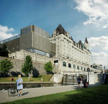Château solution: let Larco build their radiator on the LeBreton flats