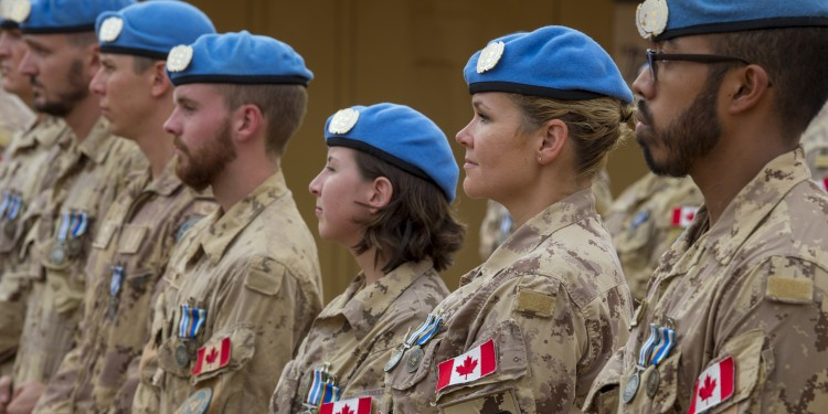 Liberal lip service to peacekeeping didn't live up to election pledge