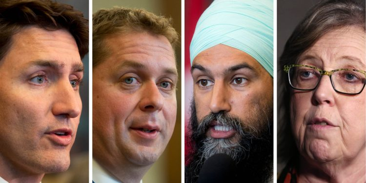 Canada election 2019 polls: Justin Trudeau faces uphill ...