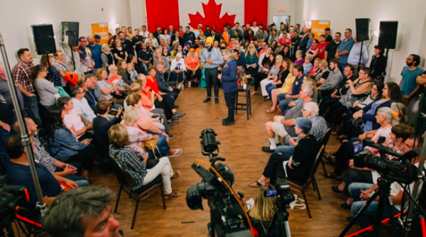 Politics This Morning: Trudeau out East, Scheer and Singh in Ontario, and the GG is on the move