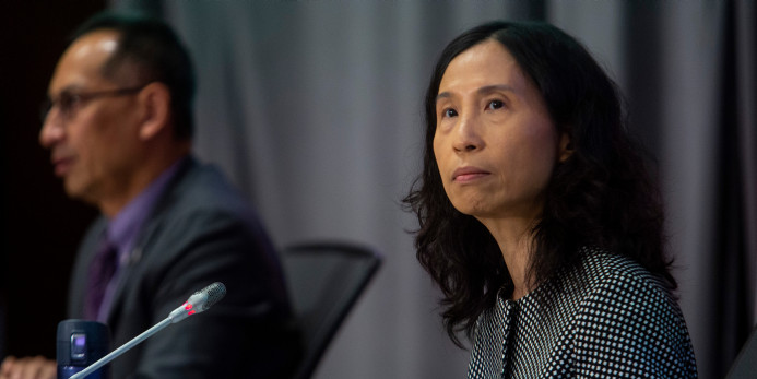 'The time is now': limit gatherings to avoid future lockdowns, says Tam, as federal data projects more spikes in cases
